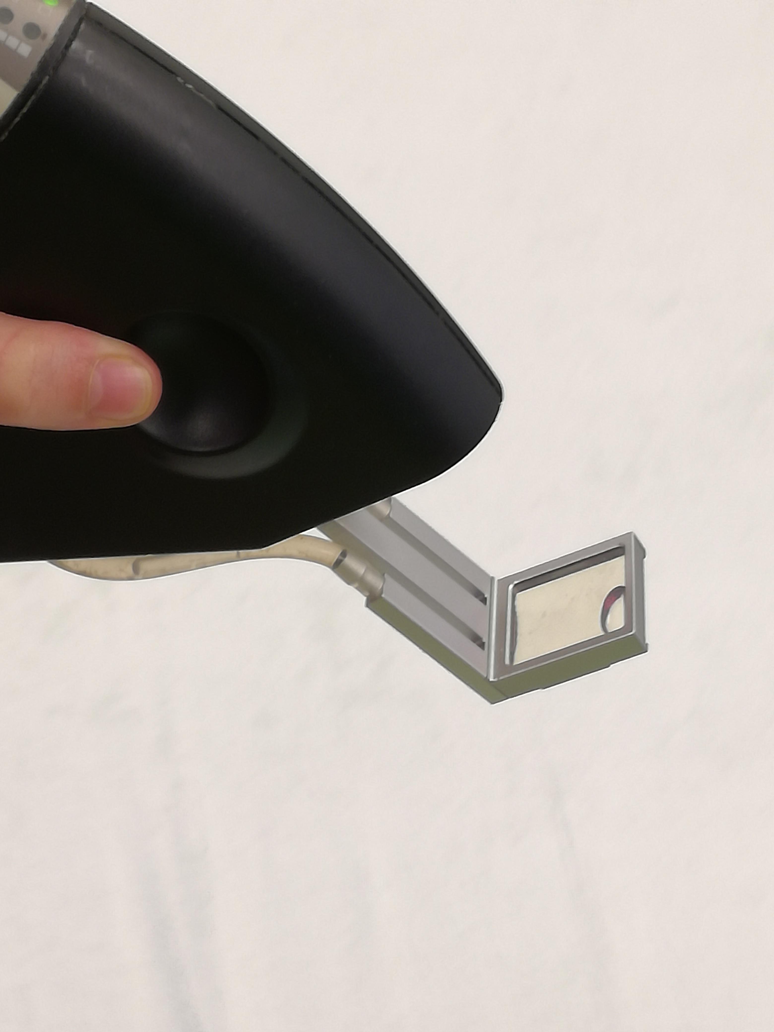 MedArt diode laser koelt de huid tijdens het behandelen tilburg PMC